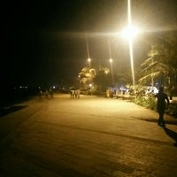 Photo taken at Bandstand Promenade by Siddhartha J. on 1/1/2016