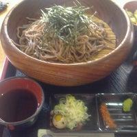 Photo taken at 手打そば 新町 by nyarome m. on 10/2/2012