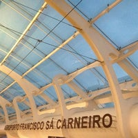 Photo taken at Francisco Sá Carneiro Airport (OPO) by Ssstofff on 4/29/2013