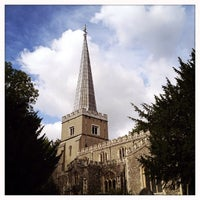 Photo taken at St Mary's Church by Noah D. on 10/12/2013