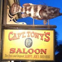 Photo taken at Captain Tony's Saloon by Frank B. on 7/16/2013