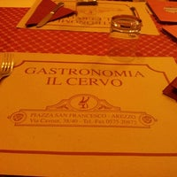 Photo taken at Gastronomia Il Cervo by Lorenzo D. on 12/1/2012