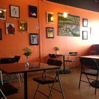 Photo taken at Brother Tim's Vegetarian Fast Food by JL J. on 10/30/2012