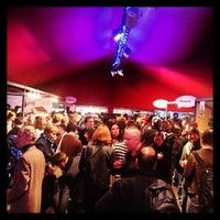 Photo taken at Festival international de la Bande Dessinée by Fredrik S. on 1/31/2014