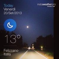 Photo taken at Felizzano by Daniele S. on 9/20/2013
