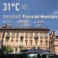 Photo taken at Municipio di Pavia by Daniele S. on 7/24/2013