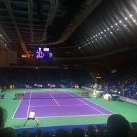 Снимок сделан в Sony Tennis Hotspot пользователем Виктория Д. 10/17/2017