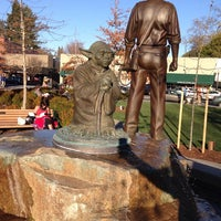 Photo taken at Yoda Statue by Howard C. on 2/23/2014