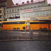Photo taken at Prague Central Bus Station by Jan H. on 4/12/2013