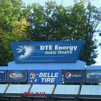Photo taken at DTE Energy Music Theatre by Antonio R. on 9/14/2012