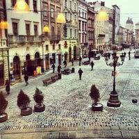 Снимок сделан в Площадь Рынок пользователем Pavlo H. 1/18/2013