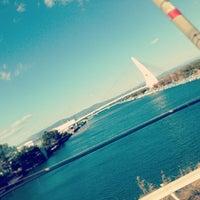 Photo taken at Lake Hamana by masaaki h. on 2/16/2013