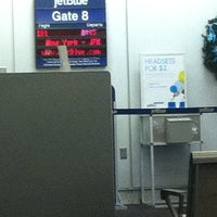 Photo taken at Gate 8 by Heather F. on 12/15/2012