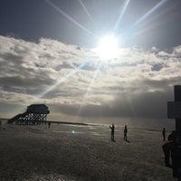 Photo taken at St. Peter-Böhl Strand by Esma A. on 10/30/2017