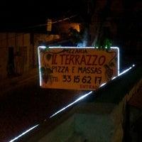 Photo taken at Pizzaria Il Terrazzo by Márcio R. on 11/23/2013