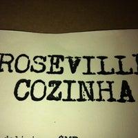 Photo taken at Roseville Cozinha by Cheryl B. on 4/6/2013