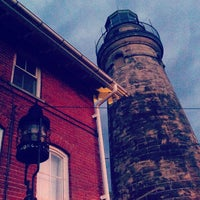 Photo taken at Fairport Harbor Lighthouse & Marine Museum by Angela M. on 9/29/2012