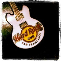 Photo taken at Hard Rock Cafe San Francisco by Arnel B. on 12/15/2012