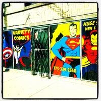 Photo taken at Variety Comics by Scott M. on 3/21/2014