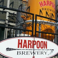 Photo taken at Harpoon Brewery by Alex C. on 5/31/2013