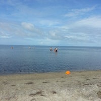 Photo taken at Haulover Sound Access by Nicole S. on 7/22/2014