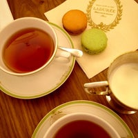 Photo taken at Ladurée by Jane P. on 11/21/2012