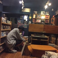 Photo taken at Root Down Records by BUUBEE on 6/26/2015
