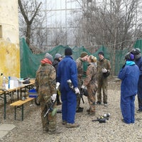 Photo taken at Pannon Paintball by Z on 3/24/2013