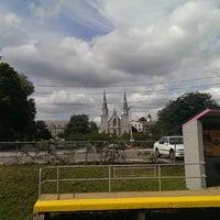 Photo taken at SEPTA Villanova Station by Vamshi G. on 7/24/2013