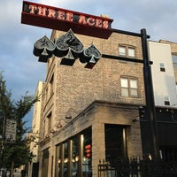 Photo taken at Three Aces by Kakaface D. on 7/28/2013