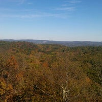Photo taken at Sleeping Giant State Park by Sarah S. on 10/13/2012