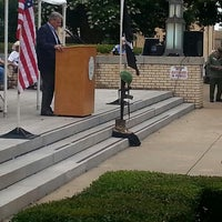 Photo taken at Gregg County Courthouse by Cindy L. on 5/26/2014
