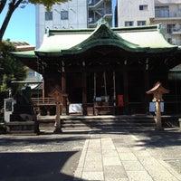Photo taken at 鉄砲洲稲荷神社 by kayamori m. on 11/4/2012