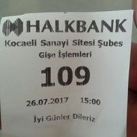 Photo taken at Halkbank by Nezih D. on 7/26/2017