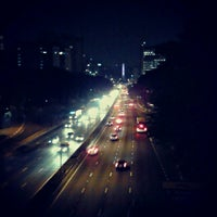 Photo taken at Avenida Vinte e Três de Maio by Victor A. on 10/9/2012
