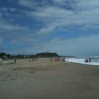 Photo taken at Praia dos Paraguaios by Laiana P. on 12/23/2012