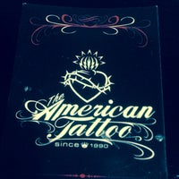 Photo taken at American Tattoo by Santiago R. on 11/4/2013
