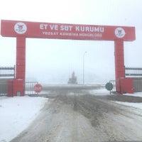 Photo taken at yozgat et süt kurumu kesimhanesi by Ömer Y. on 12/27/2016