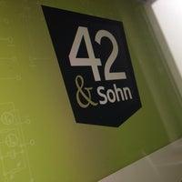 Photo taken at 42 & Sohn by Thorsten B. on 2/3/2014