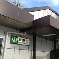 Photo taken at 蓮田駅西口 バス停 by KEISUKE K. on 7/6/2013