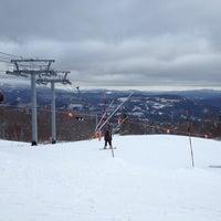 Photo taken at North Peak Lodge by Laura N. on 3/2/2013