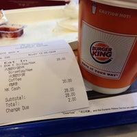 Photo taken at Burger King 漢堡王 by Rico W. on 11/1/2013