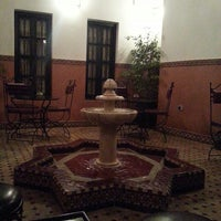 Photo taken at Riad Agdim by Zied L. on 2/7/2014