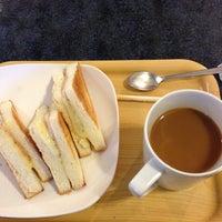 Photo taken at HUBS CAFE by Taishi on 12/17/2012