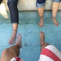 Photo taken at น้ำพุร้อนจันผา โป่งน้ำร้อนแม่จัน by T'Tine O. on 10/23/2015