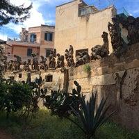 Photo taken at Villa Palagonia by Basil V. on 5/4/2014