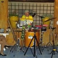 Photo taken at El Pati Blau de Can Trona by Alex B. on 7/23/2014