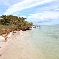 Photo taken at Bahia Honda Key by Greg H. on 11/18/2012