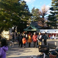 Photo taken at 草加神社 by uka_G on 1/2/2015