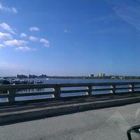 Photo taken at Silver Beach Bridge by Charles M. on 2/19/2013
